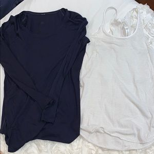 2 Lululemon shirts!
